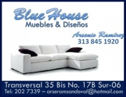 1 1 2  MUEBLES BLUE HOUSE
