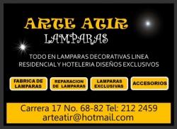 1 LAMPARAS ATIR