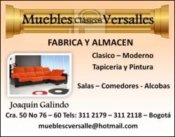 1 MUEBLES CLASICOS VERSALLES