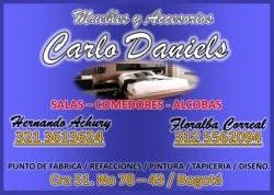 1 2  MUEBLES Y ACCESORIOS CARLO DANIELS