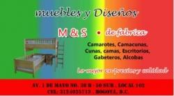 1 MUEBLES Y DISEÑOS M & S