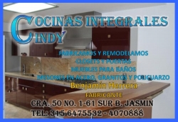 COCINAS INTEGRALES CINDY