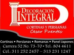 DECORACION INTEGRAL CESAR PUENTES