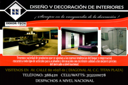 1 DEKOR-TECH DISEÑO Y DECORACION DE INTERIORES