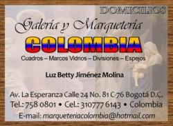 GALERIA Y MARQUETERIA COLOMBIA