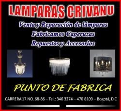 1 LAMPARAS CRIVANU