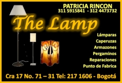 1 LAMPARAS THE LAMP