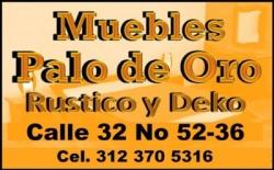 MUEBLES PALO DE ORO