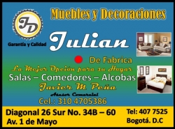 MUEBLES Y DECORACIONES JULIAN