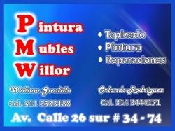 1 PINTURA DE MUEBLES WILLOR