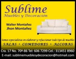 SUBLIME MUEBLES Y DECORACION
