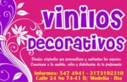 VINILOS DECORATIVOS EN MODELIA
